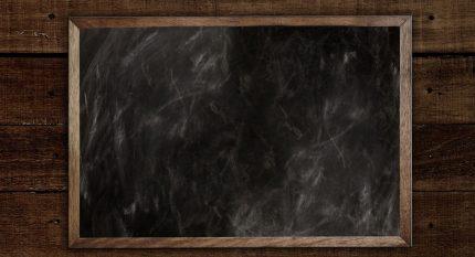 Chalkboard – Tebeşir Yazı Tahtası